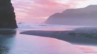 Beautiful Sunset on the Oregon Coast