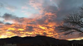 A Sunset One Evening