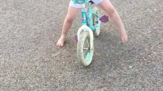 First time without training wheels