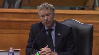 Sen. Rand Paul Slams Joe Biden's 'Colossal Incompetence'