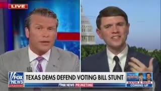 Renegade Texas Democrat says he opposes Voter ID.