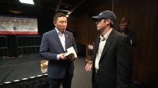 Drew Meets Andrew Yang