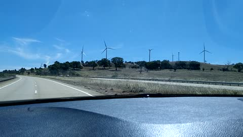 Wind farm NSW