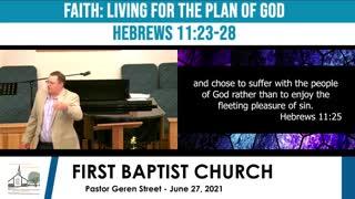 Sunday Morning Service - June 27, 2021