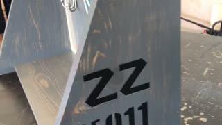 F-15 Wooden Shelf