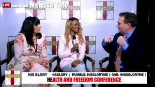 Melissa Tate: Health and Freedom Conference Tulsa Day 2