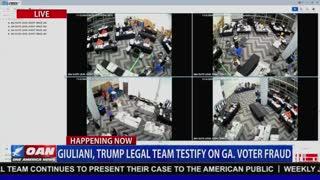 Georgia Election Fraud? Video 1.