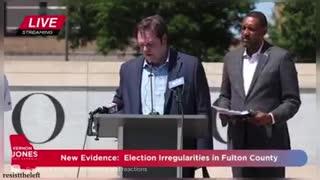 Vernon Jones is exposing the 2020 election fraud in Georgia