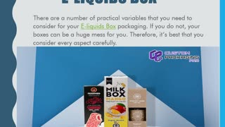E-liquids Box