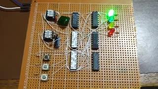 2-Player Glue Logic Reaction Time Game