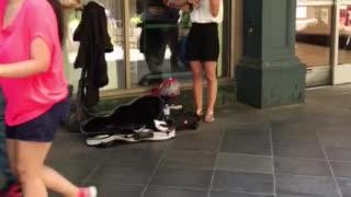 Denver, CO street violinist