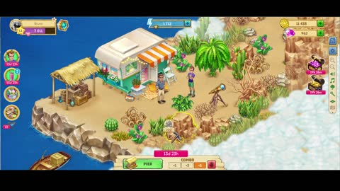 [GamePlay] Taonga: Island Farm (Browser Game) Island of the Experiments Initial Quest