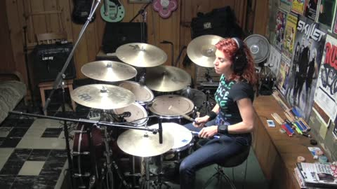 Hit Me With Your Best Shot by Pat Benatar ~ Drum Cover