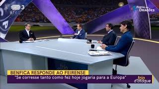 «Há um movimento em Lisboa que não quer o FC Porto campeão.»
