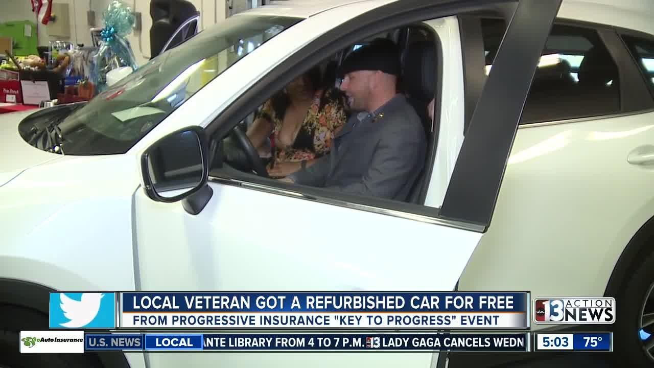 Las Vegas valley veteran receives car