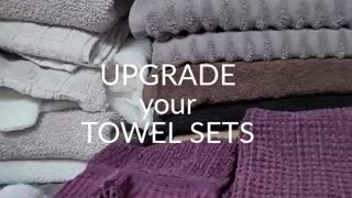 LATEST TOWEL SETS