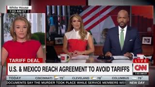 CNN admits that Trump's immigration talks were successful