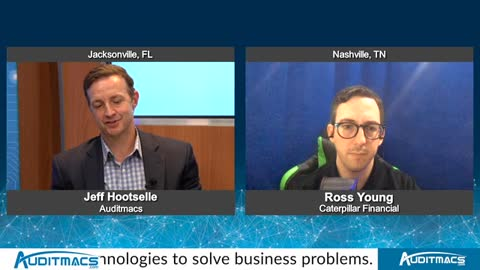"""""""Tech Talk USA"""" with Ross Young from Caterpillar Financial"""