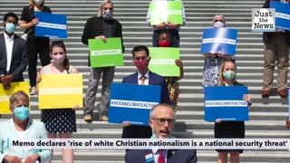 Democratic memo declares 'rise of white Christian nationalism is a national security threat'