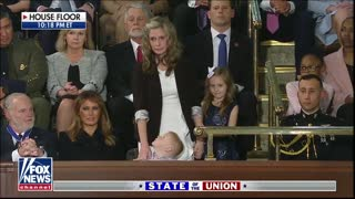 President Donald Trump Uses 2020 SOTU To Reunite Military Family