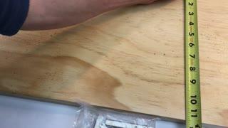 2pcs Steel 90 180 Degree Folding Shelf Hinge Bracket Hidden Table Holder Furniture Folding Shelves