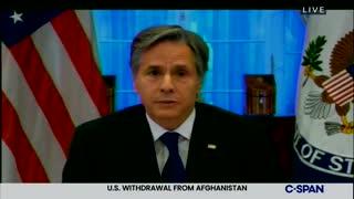 Blinken on Taliban's situation