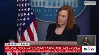 White House Press Secretary Jen Psaki Answers Question About Game Stop