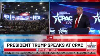 President Donald Trump FULL SPEECH at CPAC 2021 in Dallas, TX 7/11/21
