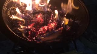 Evening Bonfire