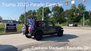 Trump 2020 Parade Caravan - Eastlake, OH