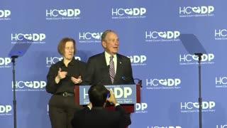 Bloomberg mocked for botching Texas slan