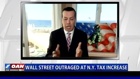 Wall Street outraged at N.Y. tax increase
