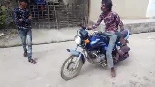 Bike racing problem with boy