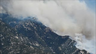 Bighorn Fire, near Tucson