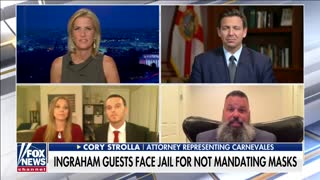 Ron DeSantis Grants Clemency on Live TV to Florida Couple for Not Mandating Masks at Their Gym
