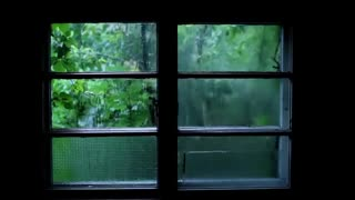 Rain Sound and Thunder Sleep Meditation Sound