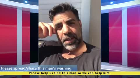 Man in Jerusalem Warns the World! Please help me find this man Mirrored