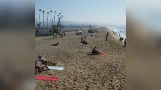 Newport Beach, CA Pier 🌞 Over & Under🌊