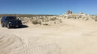 Infinity Donuts in the Desert