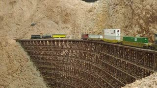 San Diego Model Railroad Museum 12/06/2020 in HO scale