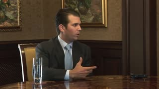 Donald Trump Jr. interview from 2011 about his business plans