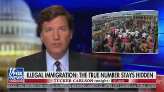 Tucker Carlson Calls Out Biden's Immigration Policies