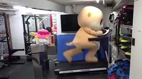 Funny Treadmill Fails 2020 مضحك