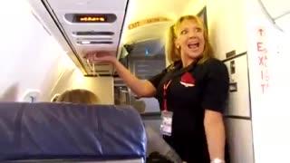 Funny Delta Flight Attendant