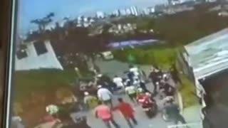 Video: impresionante accidente dejó cuatro heridos en Floridablanca
