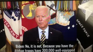 Biden Tells Press Not To Worry About Afghanistan