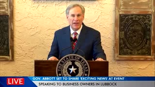 """100%!"" Texas Reopening ALL Businesses - Ending Mask Mandate"