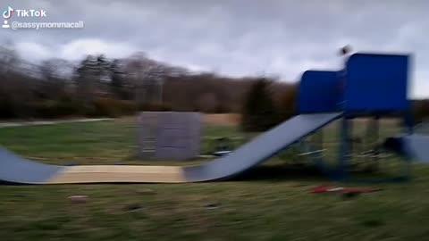 A little Skateboarding