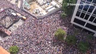 Así avanzan las marchas en Venezuela contra el Gobierno de Maduro