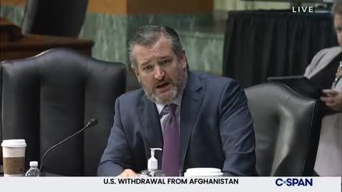 WATCH: Senator Ted Cruz EXPOSES Secretary Tony Blinken For Failed Afghanistan Withdrawal